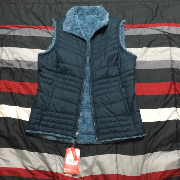 87364979c704 North face reversible mossbud swirl vest